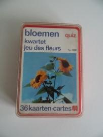 Bloemen quiz kwartet uit 1974 Jumbo(Art.15-1496)