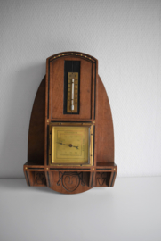 Vintage barometer / Thermometer (Art.21-2100)