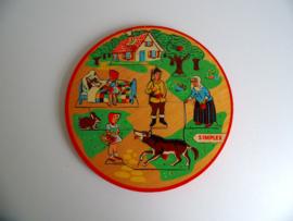 Simplex Puzzel Roodkapje jaren 60 (Art.19-1093)