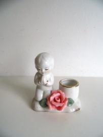 Kaarsenhouder biddend jongetje (Art.18-2223)