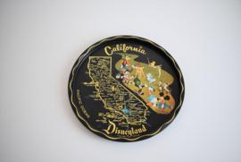 Jaren 60 metalen  dienblad Disneyland (Art.21-1871)