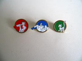 3 leuke pins van Flair (Art.18-1139)