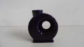 Vaasje uit de jaren 60/70 Blauw (Art.20-1372)