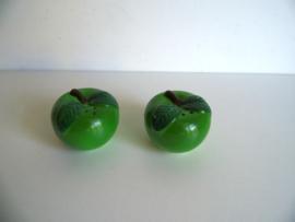 Peper en zout vaatje appel (Art.17-1664)