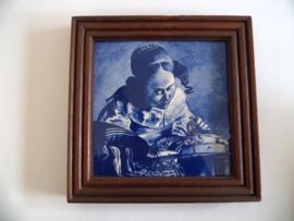 Vintage Delfts blauwe tegel (Art.20-1101)