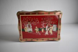 Mooie koekjes trommel Japans/Chinees (Art.21-1996)