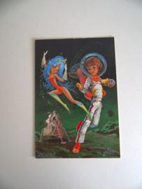 Leuke ansichtkaart uit de jaren 60 ongelopen (Art.19-1181)