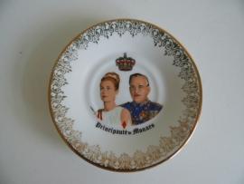 Bordje porcelaine d'art Moncaco(Art.15-2534)