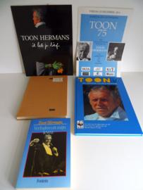 Set boeken Toon Hermans (Art.19-1351)