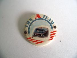 Oude button van The A Team uit 1983 (Art.16-2026)