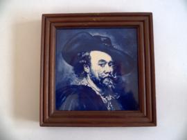 Vintage Delfts blauwe tegel (Art.20-1103)