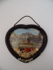 Hanger uit Salzburg met Edelweiss jaren 60 (Art.20-1207)