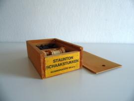 Schaakstukken Staunton  jaren 60/70  (Art.20-1570)