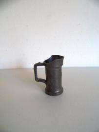 Tinnen/metalen kan voor de letterbak (Art.19-1126)