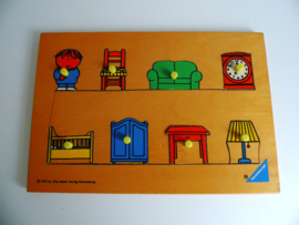 Dick Bruna puzzel Ravensburger uit 1977 (Art.19-1094)