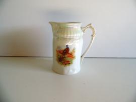 Melkkan met fazant afbeelding (Art.20-1032)