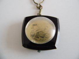 Vintage sleutelhanger Poliersbedrijf P. Koevoets (Art.20-1337)