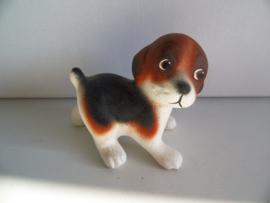 Beeldje hond keramiek (Art.19-1584)
