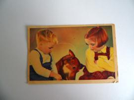 Oude ansichtkaart uit 1951 gelopen (Art.19-1114)