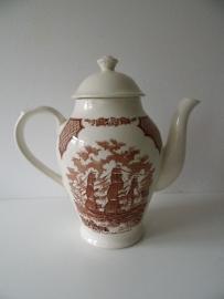 Alfred meakin staffordshire england fair wind koffiepot(Art.14-1085)