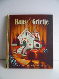 Gouden boekje Hans en Grietje Efteling (Art.19-1494)