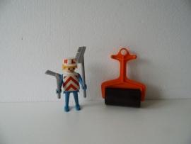 Playmobil werkman uit de jaren 70 serie 3314 (Art.13-9184)