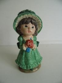 Beeldje meisje  uit de jaren 70 (Art.15-2427)