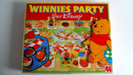 Spel Winnies Party uit 1989 van Jumbo (Art.20-1469)