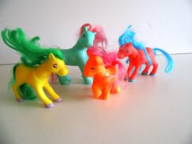 4 oude My Little pony's (Art.20-1240)