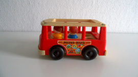 Fisher Price bus 1969 Belgium FP- 141 (Art.20-1474)