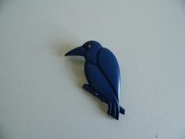 Broche vogel jaren 70 (Art.15-2670)