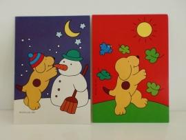 2 Kaarten Kinderzegel 2001 (Art.12-15040)
