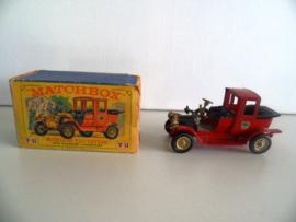 Models of YesterYear Y-11 1912 Packard Landaulet - jaren 60 (Art.19-1578)