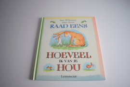 Kinderboek - Raad eens hoeveel ik van je hou (Art.21-2128)