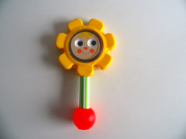Fisher Price Flower Rattle #424 uit 1973 (Art.20-1080)