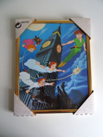 Messing lijst met Disney poster Peter Pan (Art.17-2224)