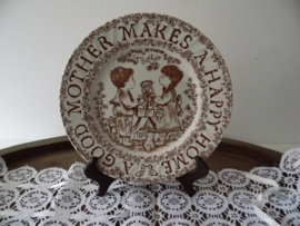 Burleigh Ironstone Staffordshire bord jaren 70(Art.20-1525)