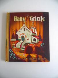Gouden boekje Hans en Grietje van de  Efteling (Art.20-1230)
