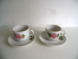 Twee kleine Kahla kopjes (Art.15-3478)