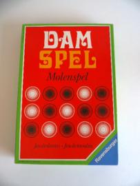 Dam/Molenspel uit 1970 Ravensburger (Art.20-1200)