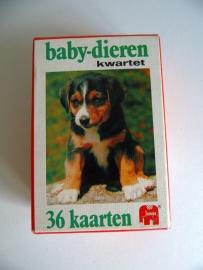 Baby-Dieren kwartet Uit 1979 (Art.15-2739)