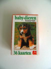 Baby dieren kwartet uit 1979 (Art.17-1308)