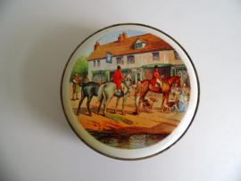 Blikje met jachttafreel uit de jaren 60 (Art.18-1195)