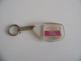 "Vintage sleutelhanger ""Keizershof Kruisland""(Art.20-1338)"