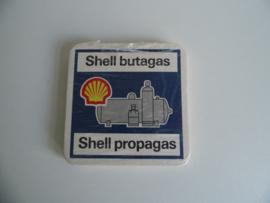 Setje oude viltjes van Shell butagas (Art.18-1306)