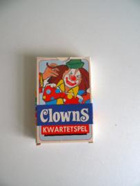 Fleuril kwartet Clowns jaren 70 (Art.17-1457)