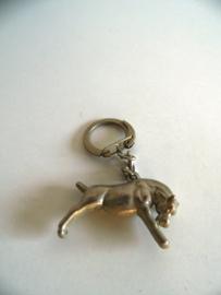 Oude sleutelhanger stier jaren 60 (Art.19-1610)