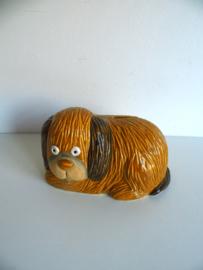 Leuke spaarpot hond uit de jaren 70 (Art.18-1226)