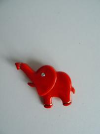 Broche olifant jaren 70 (Art.17-2122)