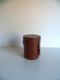 """Mooie oude lederen houder voor fototoestel"""" lens """"(Art.18-2051)"""